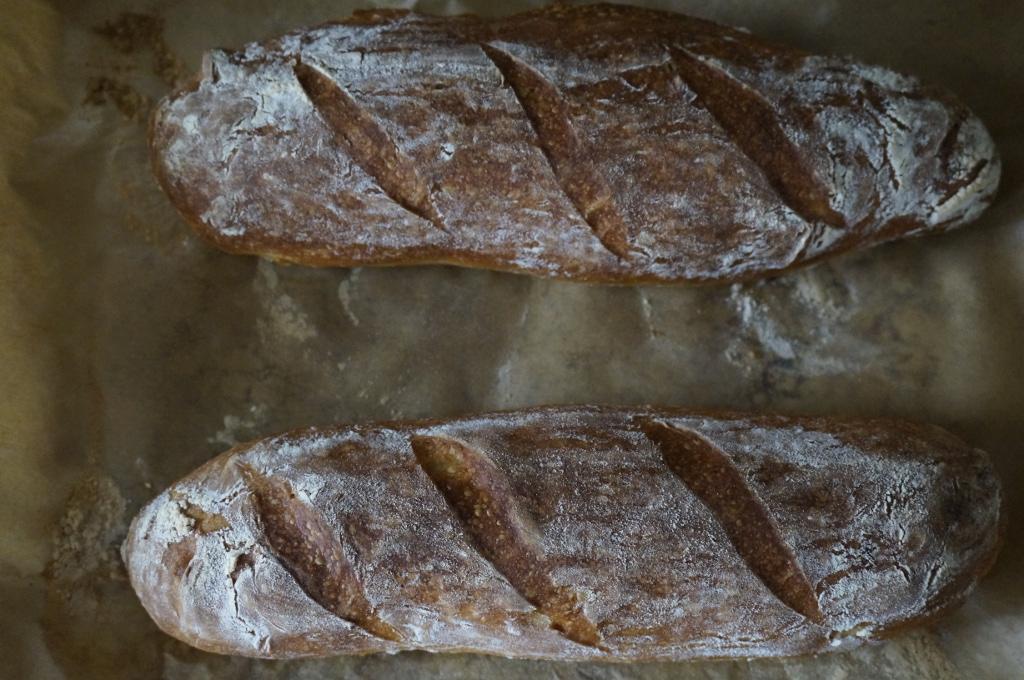 ofenfrische Brote