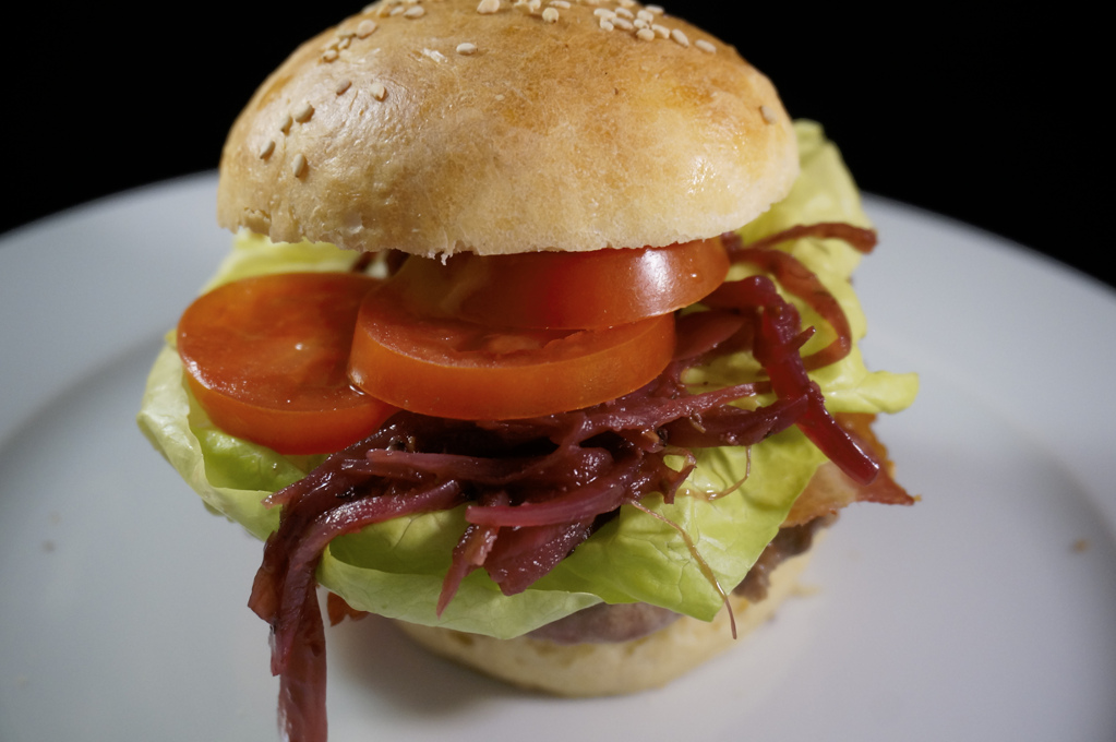 BBQ - Burger - der happy Cowboy