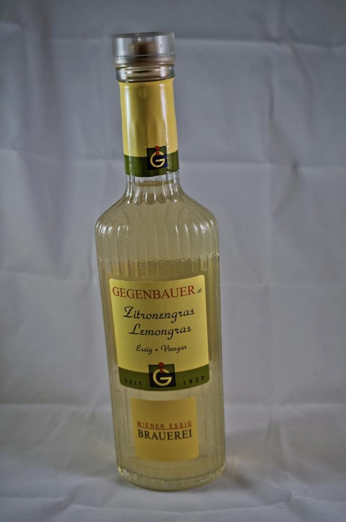 Zitronengrasessig von Gegenbauer