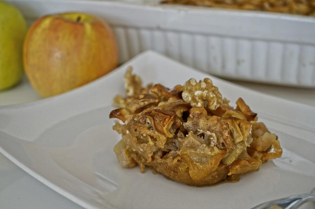 Amerikanischer Apfel Walnusskuchen Happy Plate