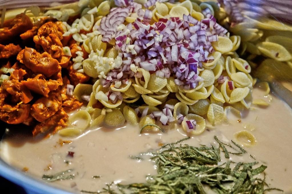 One Pot Pasta - Alle Zutaten in einen Topf und los geht's