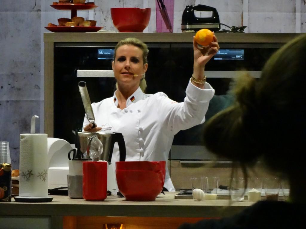 Andrea Schirmaier-Huber kocht auf der eat & style von Jupiter