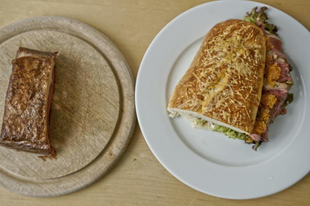 Ochsen - Roastbeef - Sandwich
