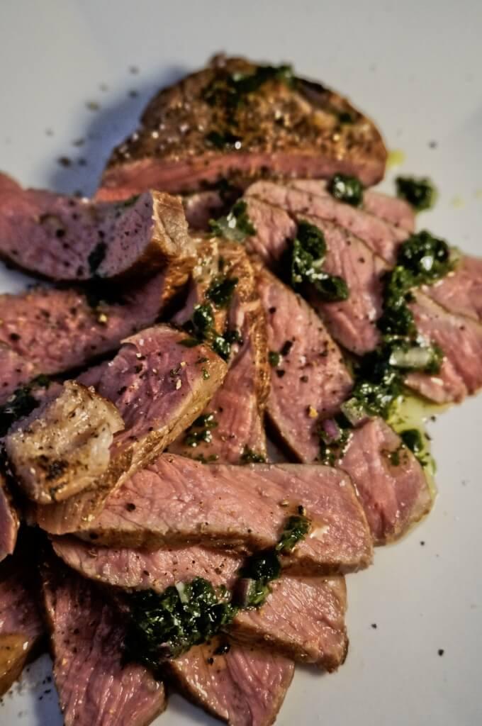 sous vide gegartes Steak