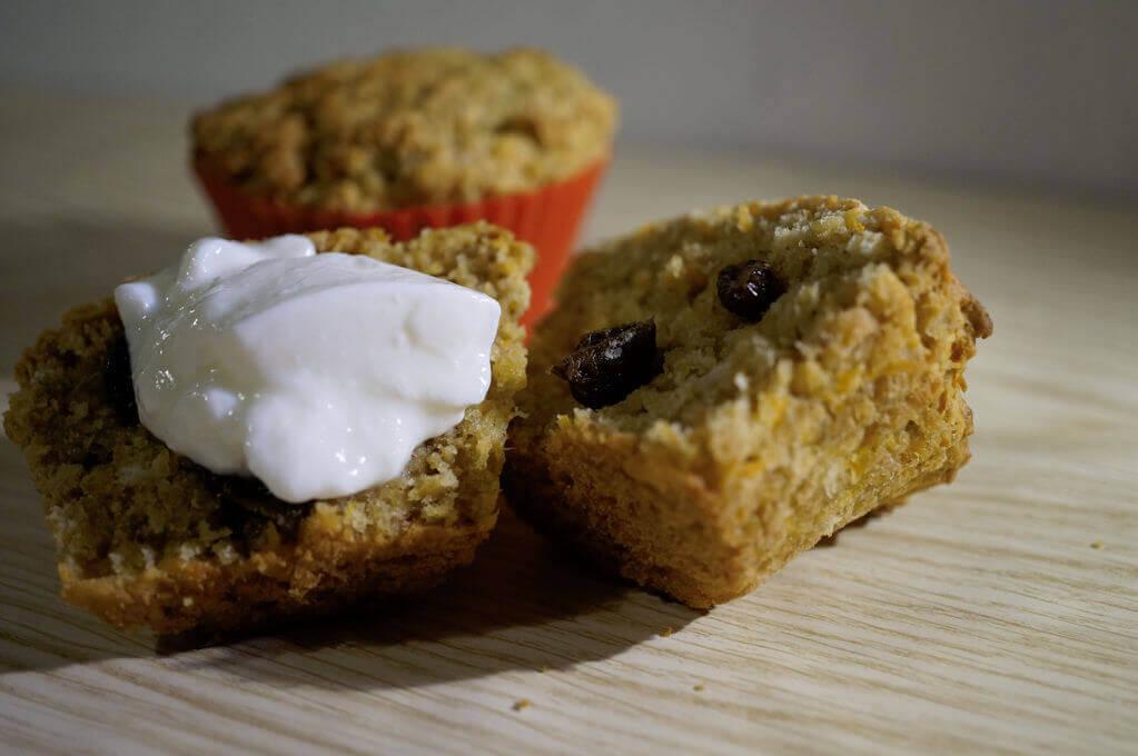 Haferflocken - Möhren - Muffins 2