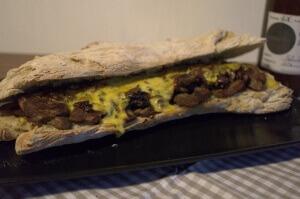 Philly Steak Sandwich_