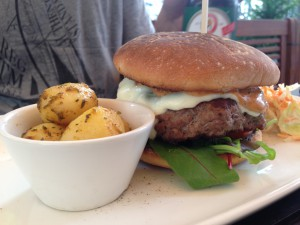 Burger in München aus dem CA-BA-LU in München - Lehel