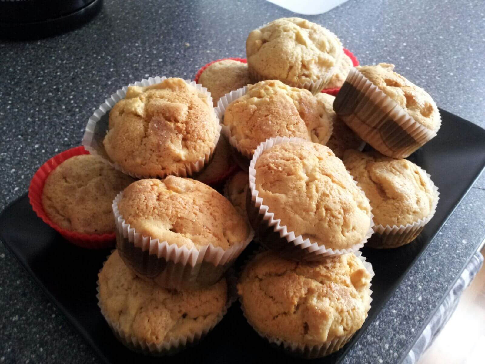 Apfel - Zimt Muffins