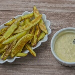 Pommes frites selbstgemacht mit Pale Ale Mayonnaise