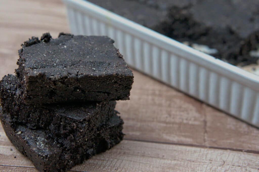 Glutenfreie selbstgemachte Brownies