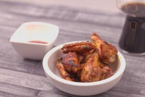 Chicken Wings in leckererer Marinade und schön kross