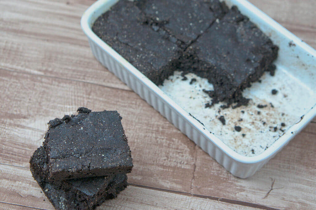 glutenfreie brownies ein einfaches und schnelles rezept mit mandelmehl happy plate. Black Bedroom Furniture Sets. Home Design Ideas