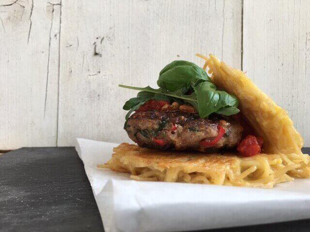 Spagetthi Burger