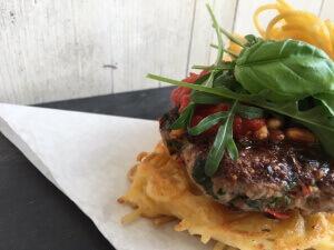 Pastamaniac Spaghettiburger_