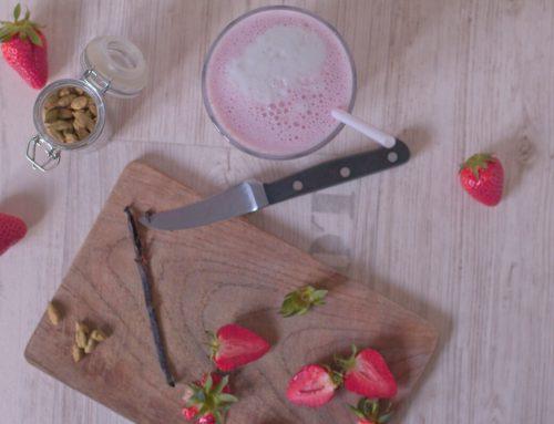 Die leckersten Erdbeermilchshakes