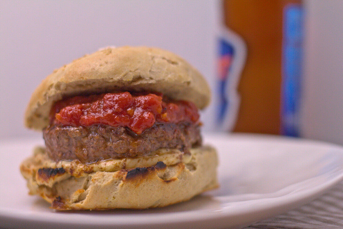 Klassiker Burger aus dem Burger Unser