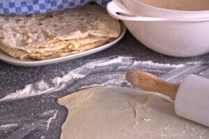 Rezept fur leckere Tortilla Wrap