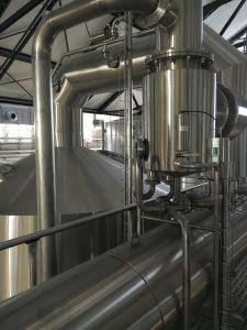 Modernste Technik in der anlage von Stone Brewing