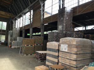 Das Lager von Stone Brewing