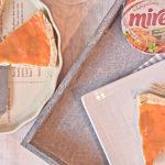 Iberico Frischkaese Quiche mit Moehrenglausr_