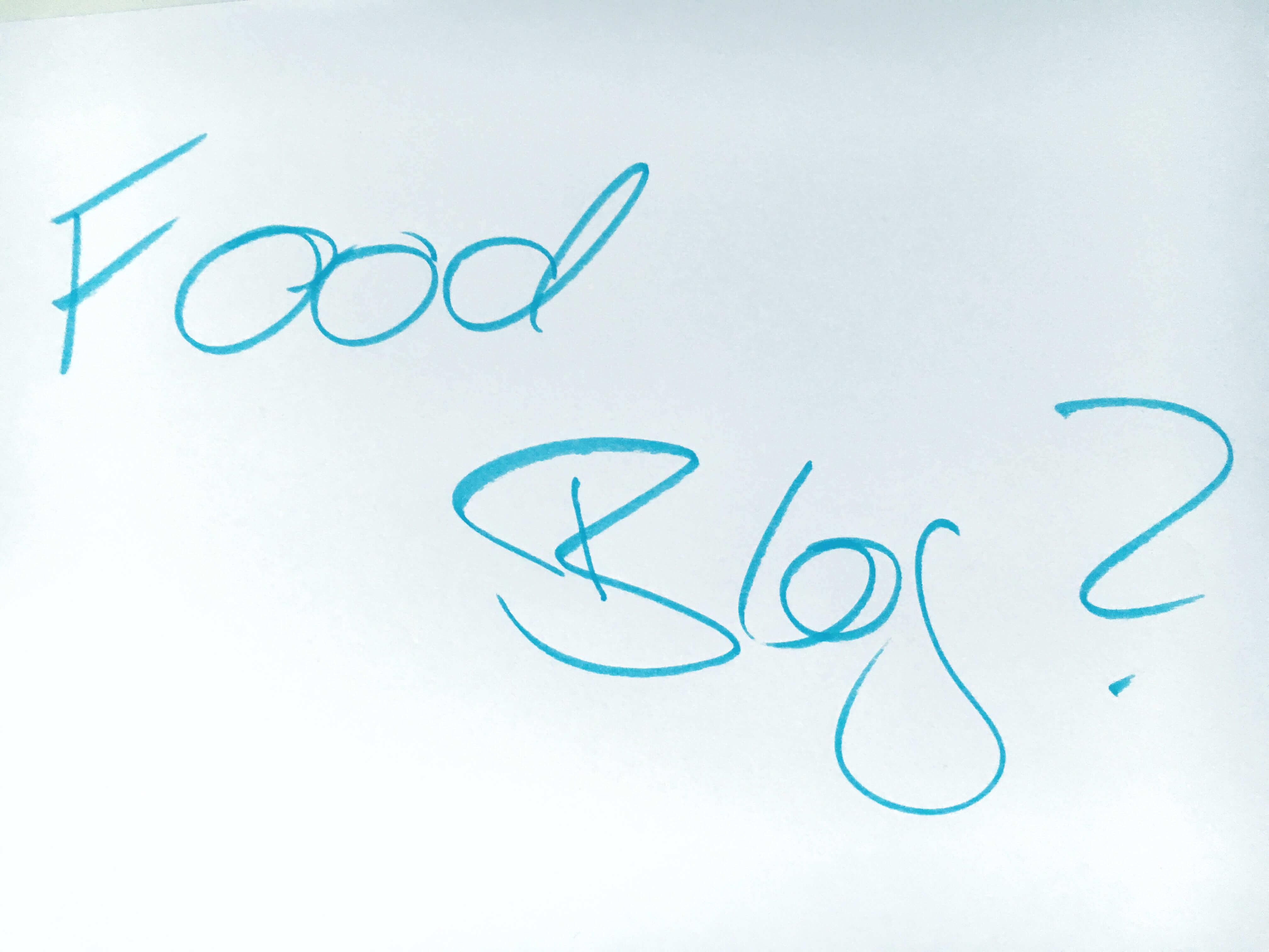 Auf was muss man bei einem Foodblog achten