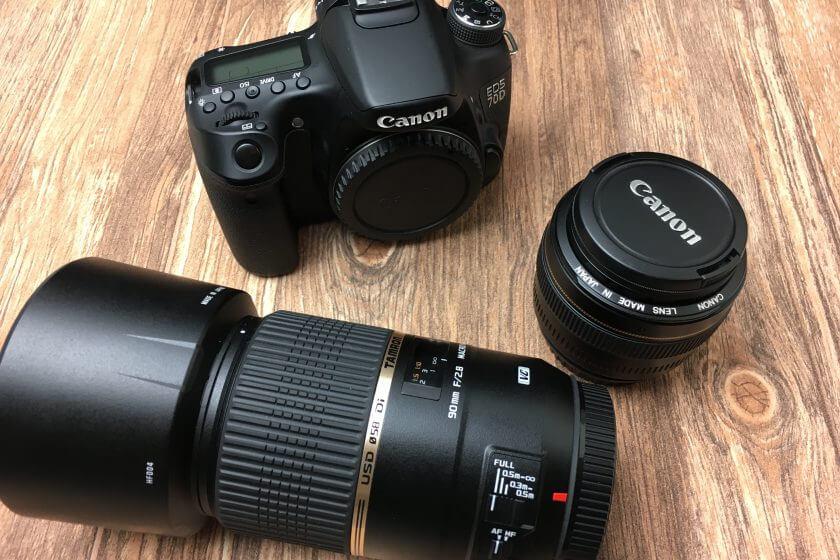 Canon Zubehör für die 70D mit Tamron Objektiv