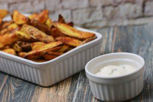 Rezept für Kartoffelspalten aus dem Ofen