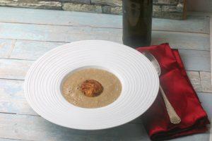 Maronensuppe mit Kokos