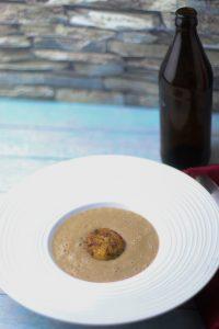 Maronensuppe mit Kokos und Koriander