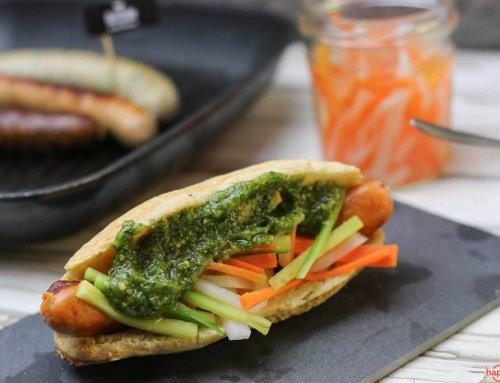 Hot Dog im Banh Mi – Style mit Grillido BBQ
