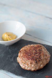Die perfekten Bouletten mit Kalbsfleisch und Senf