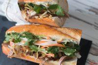 Banh Mit vietnamesisches Sandwich mit Rind