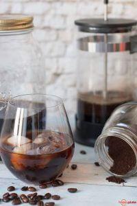 Kalter Kaffee zu Hause selbstgemacht