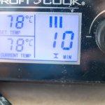 Abmaischen bei 78 °C