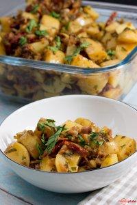Kartoffelsalat sous vide gegart