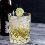 Biercocktail mit Gin und Pils