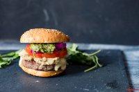Chimichurri Burger mit Kaese_
