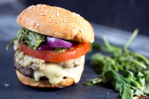 Chimichurri Burger_