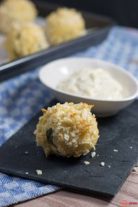 Couscous - Baellchen mit Samurai Sauce_