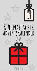 Kulinarischer Adventskalender Tuerchen 19