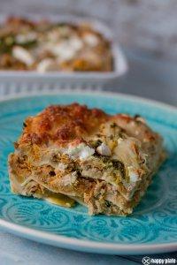 Orientalische Lasagne mit Lammhack