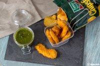 Chicken in Chipspanade mit selbstgemachten Chimichurri