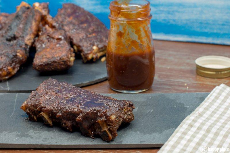 Spare Ribs aus dem Ofen mit selbstgemachter Barbecuesauce