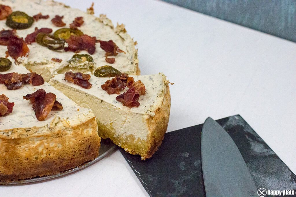 Deftiger Ny Style Jalapeno Cheesecake Mit Bacon Happy Plate