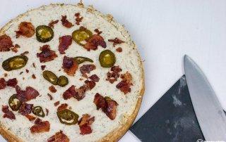 Jalapeno Cheesecake mit Bacon