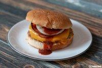 Barbecue Burger vom Grill2Go von Char Broil_