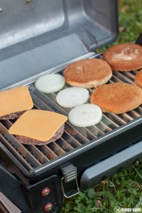 Barbecue Burger vom Grill_