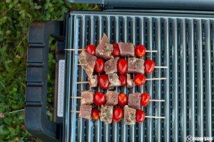Tunfisch Sticks auf dem Grill_