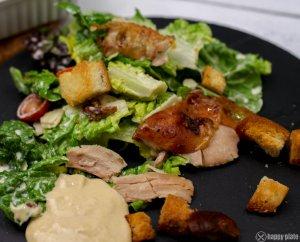 Selbstgemachter Caesars Salad