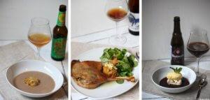 Erstes Menü für den happy plate lunch club